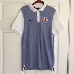 (Men) Nike Shirts USA Soccer